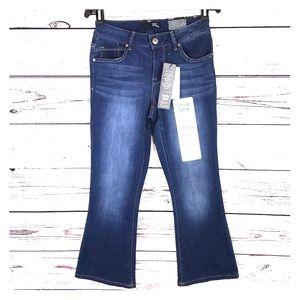 1822   Vintage Denim Kick Flare Mid-Rise Jeans 👖